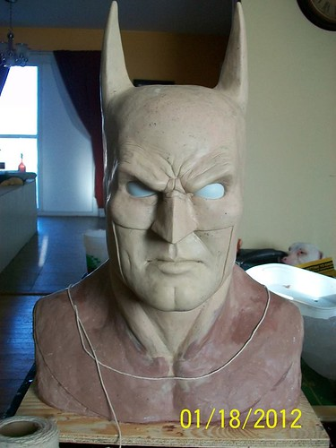BrazenMonkey costume design and sculpting by John Marks - Batman