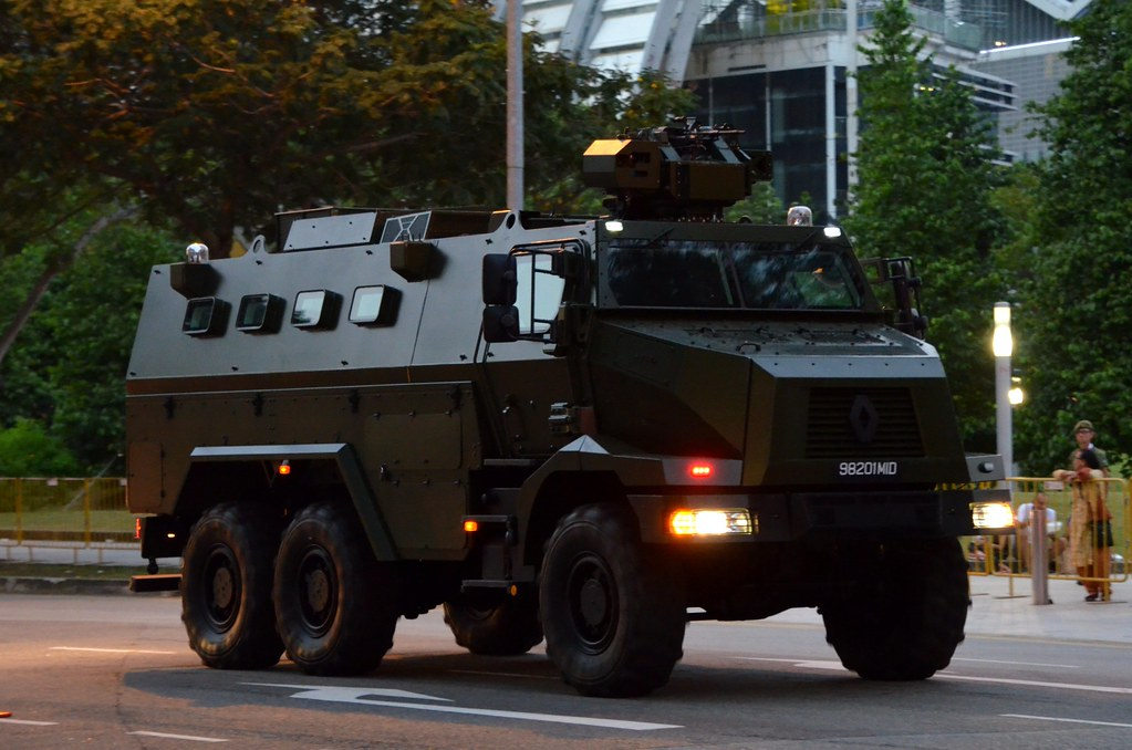Singapore Army Renault Higuard Peacekeeper Protected Respo