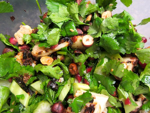 Hazelnut Cauliflower Salad