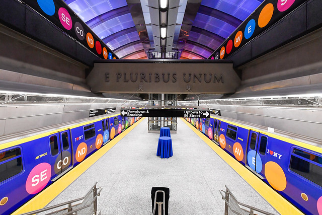 72nd Street Station of the Second Avenue Subway