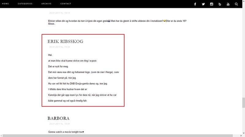 nettmobbing 20. januar 2