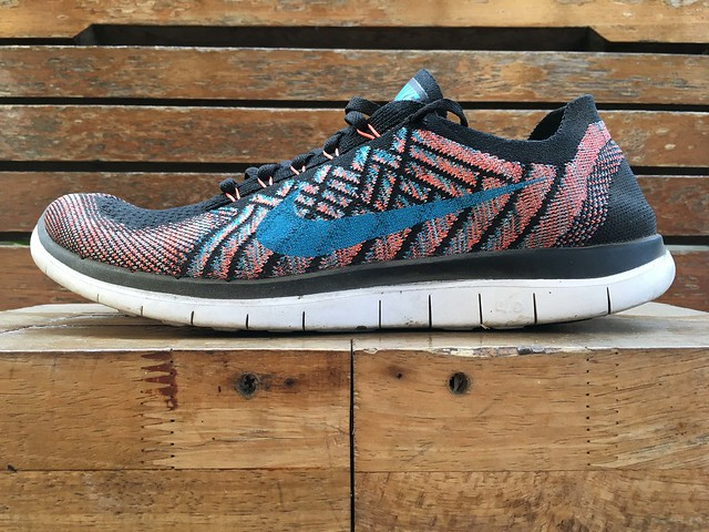 Nike Free 4.0 Flyknit 2015 after 350 Km run