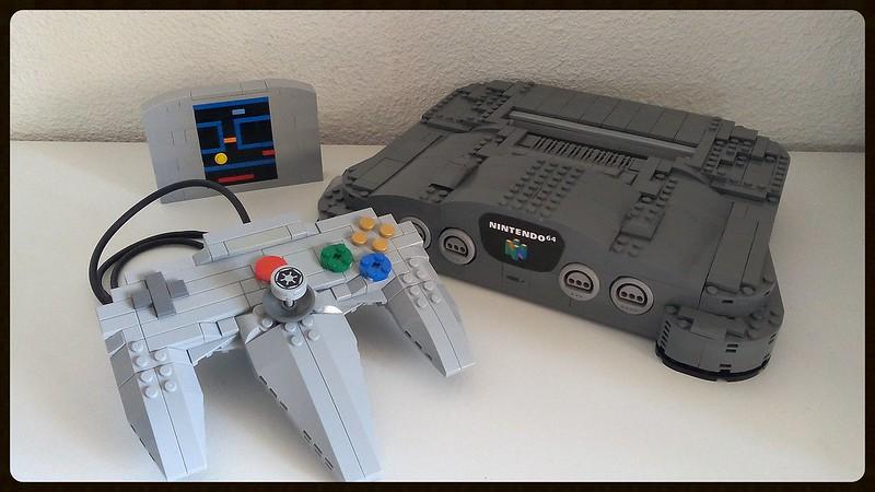 Lego console moc retrogaming giocovisione for Consolle lago
