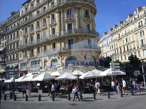 La Samaritaine Cafe in Marseilles, France