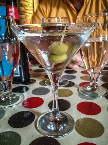 Martini at Byrnes Restaurant in Ennistimon