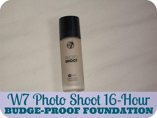 W7 Photo Shoot Foundation Review