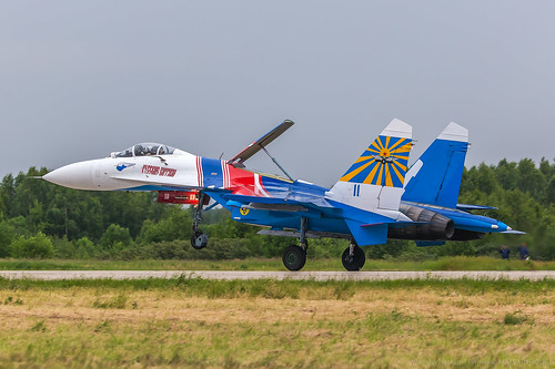 "Su-27 ""Russian Knights"" 