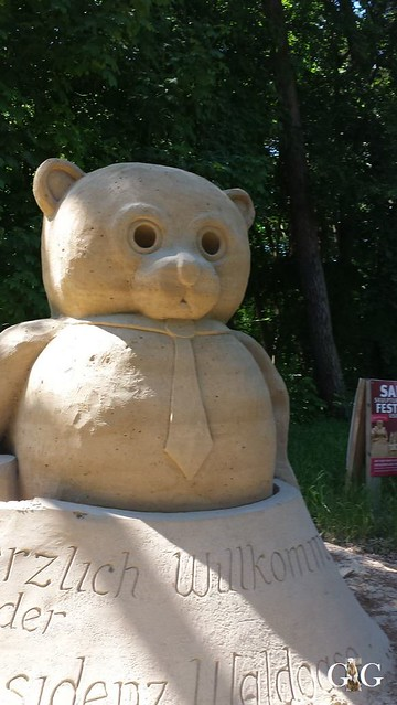Swinemünde Sand Skulpturen Festival 201523
