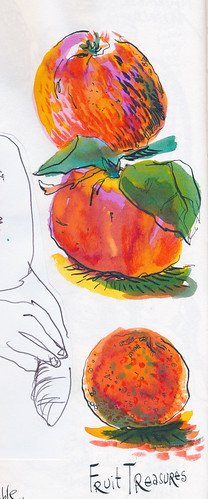 Sketchbook #101: Treasures (mostly edible :)