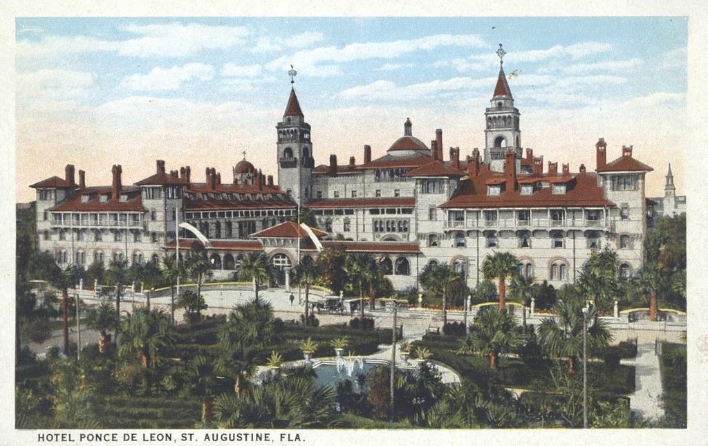 Hotel Ponce de Leon - St, Augustine, Florida