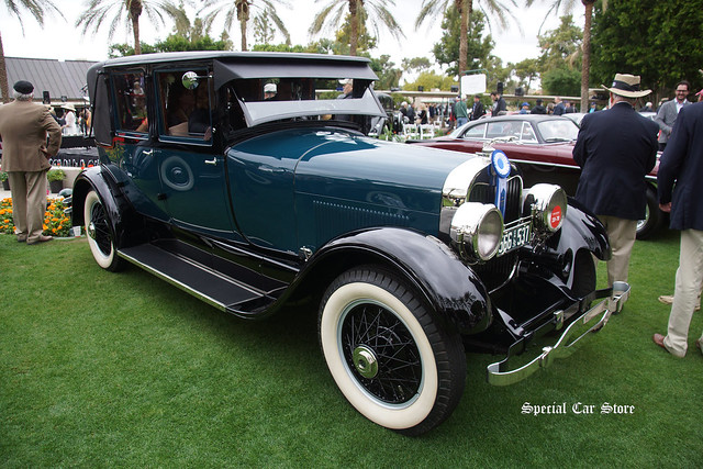 1926 Lincoln Model L Lebaron Sedan