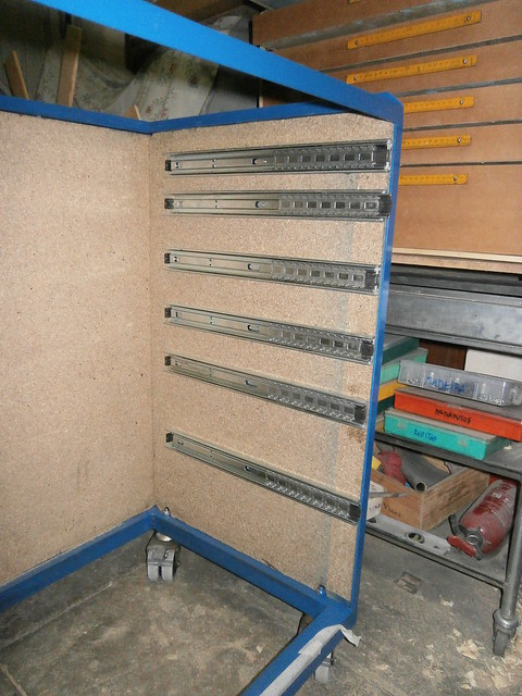 homemade tool chest