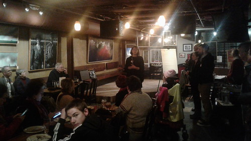 STRONG TURNOUT AT KELLEY KICKOFF:  First Ward Council Candidate greets donors, supporters