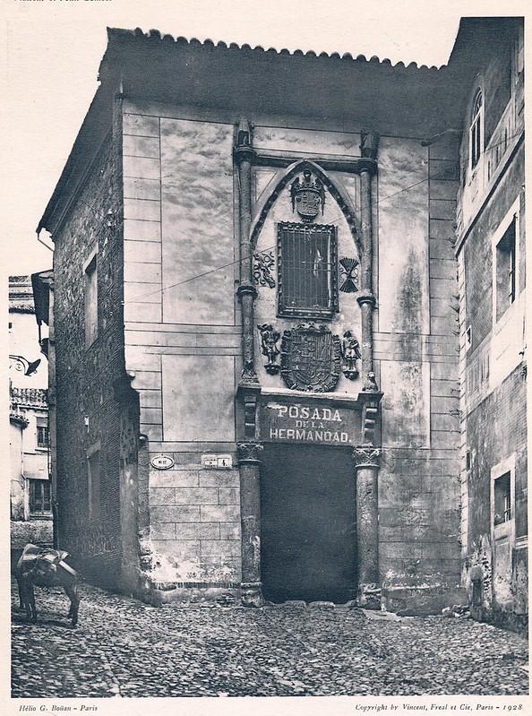 Posada de la Hermandad. Del libro Petits Édifices, publicado en Paris en 1928 por los editores Vincent, Fréal et Cie.
