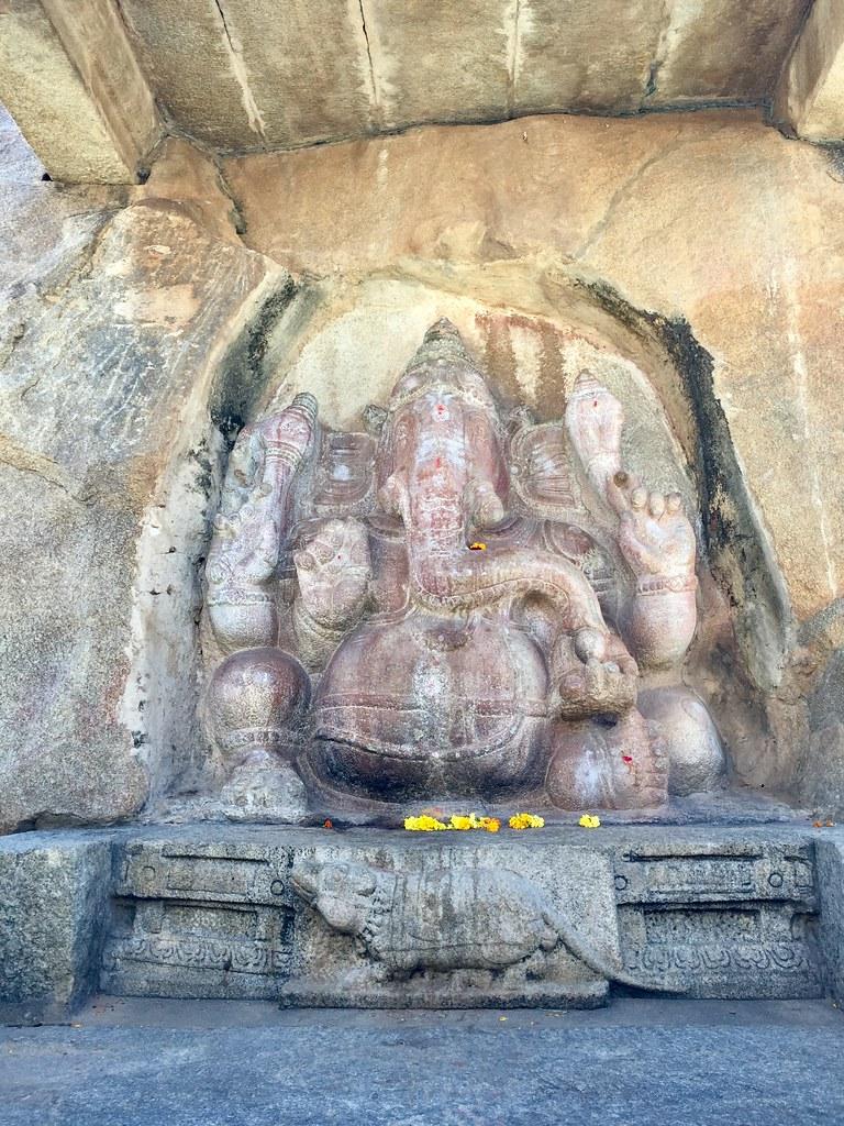 Ganesha on the rock