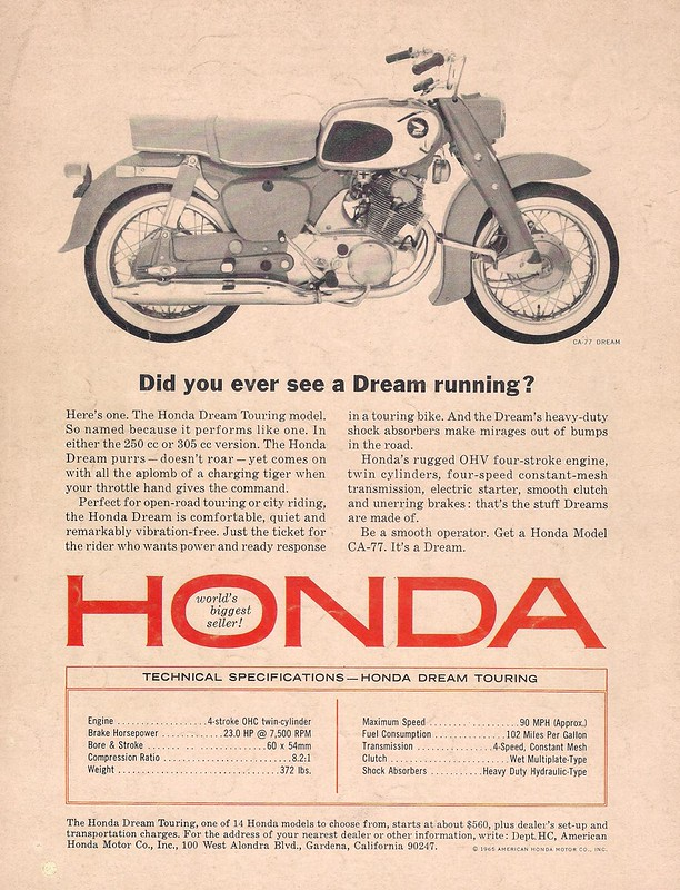 Honda CA77 Dream
