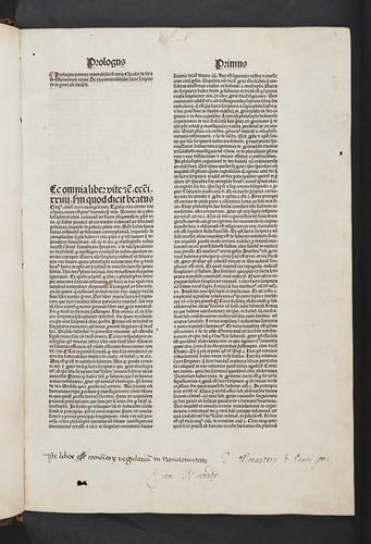Monastic ownership inscriptions in Nicolaus de Lyra: Postilla super totam Bibliam