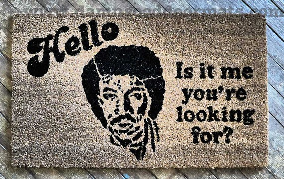 Damn Good Doormats - Lionel Richie