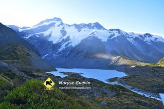 Mont Cook Nouvelle-Zélande