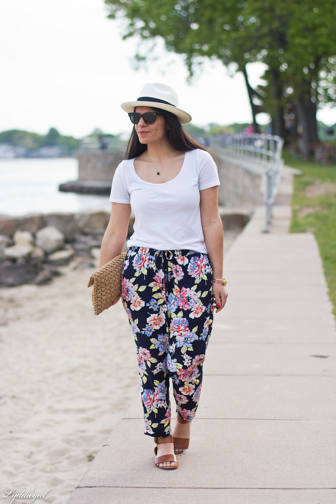 floral joggers, white tee, panama hat-4.jpg