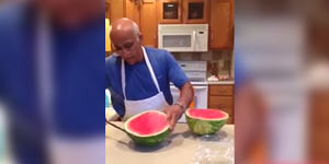 Hot To Properly Cut A Watermelon