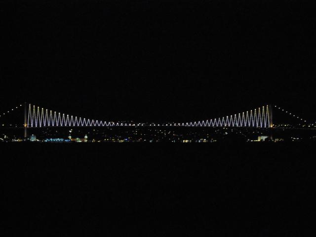 博斯普魯斯大橋夜景-1