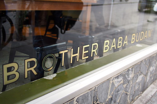Flat White Coffee and Brunch in Melbourne: Brother Baba Budan (359 Little Bourke Street)