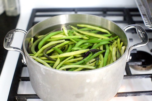 green beans with almond pesto | smitten kitchen