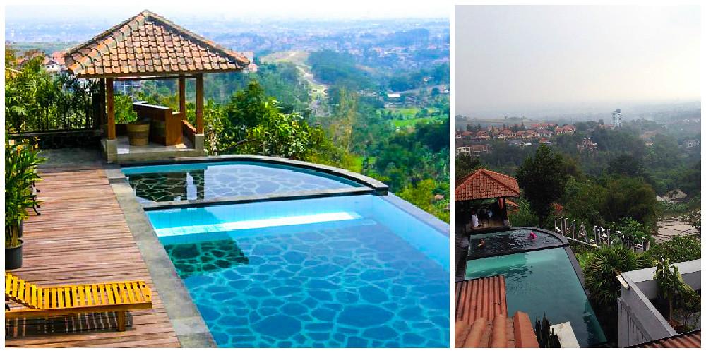 11 Hotel Di Sekitar Bandung Dengan Infinity Pool Di Bawah Rp 1 Juta
