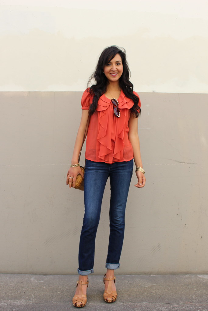 Orange Casual 9