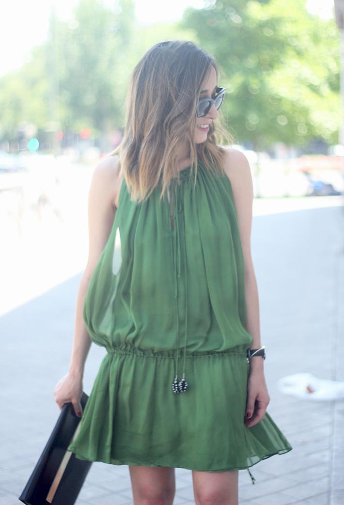 Green Dress17