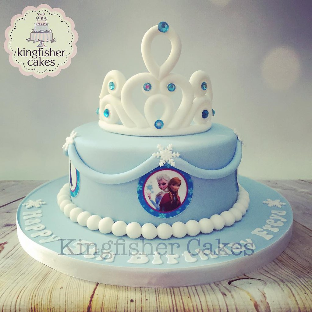Frozen Birthday Cake Ideas Simple