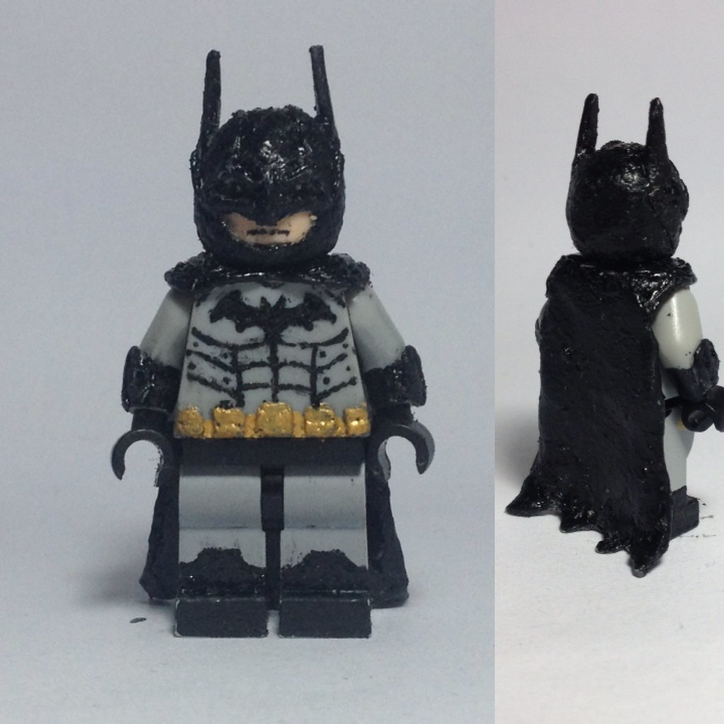 Batman Arkham Knight Batcave: Lego Batman Arkham City/Asylum Batsuit