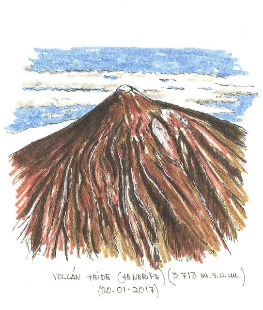 Volcán Teide (3.718 m.s.n.m.)