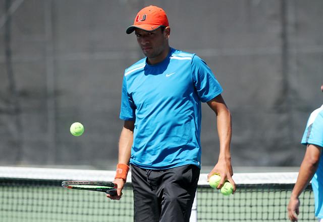 Entreno equipo Copa Davis