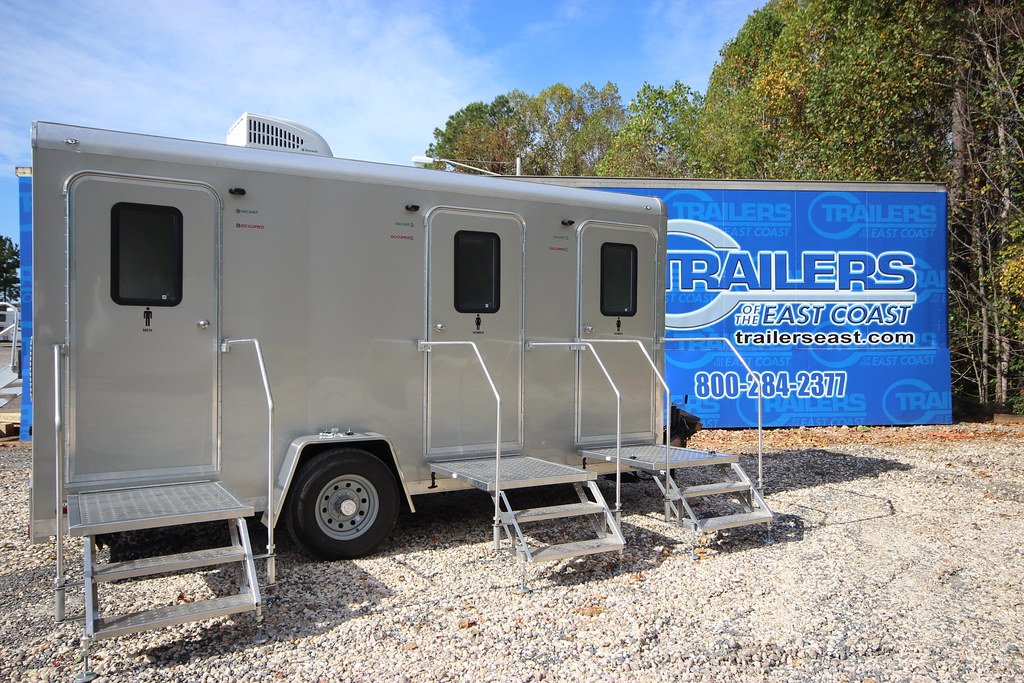 Cargo Mate Bathroom Trailer This 48 Foot Cargo Mate Bathro Flickr Enchanting Bathroom Trailers