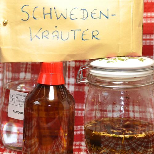 Schwedenkräuter Schwedenkräuter-Tinktur Schwedenkräuter-Elixier ... DIY Selber machen Selbst ansetzen Rezept ... Text und Fotos: Brigitte Stolle, Mannheim