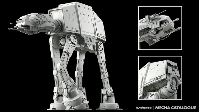 Bandai Hobby - Star Wars 1/144 AT-AT