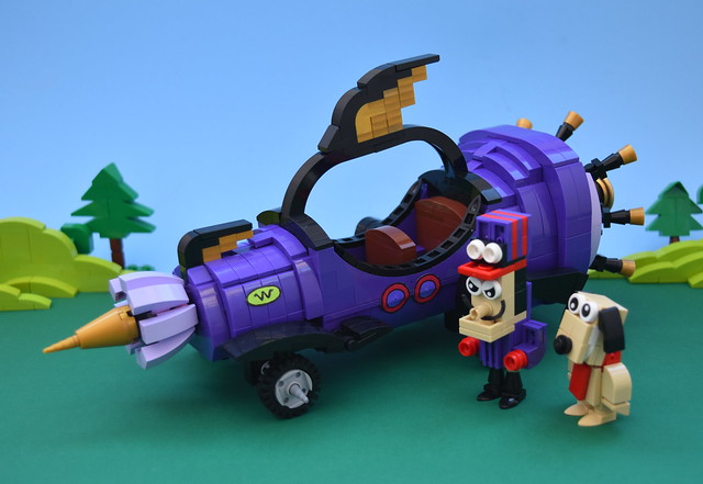 "Wacky Races "" The Mean Machine """