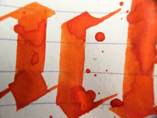 Ink Shot Review Montblanc Lucky Orange @AppelboomLaren 10