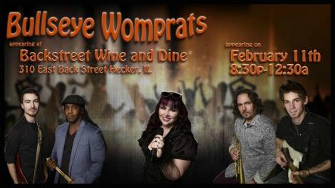 Bullseye Womprats 2-11-17