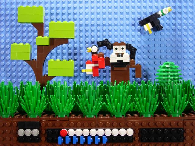 Duck Hunt (NES) -playing around-