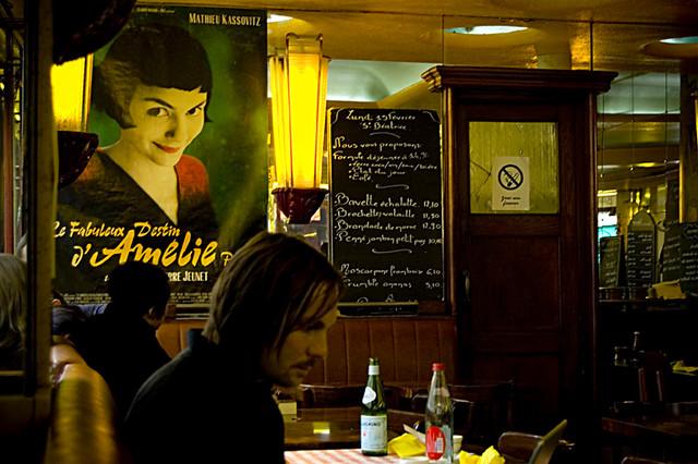 Cafe Des  Moulins Montmartre