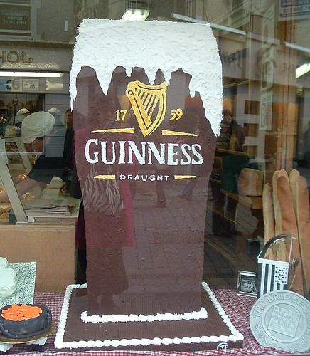 Guinness cake in Galway bakers, Ireland | by Bus Stop