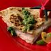 turkey cilantro quesadilla