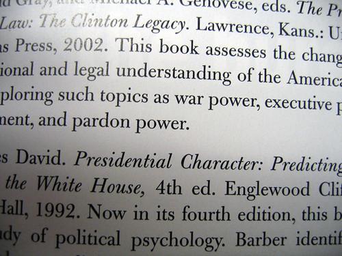 barber presidential character