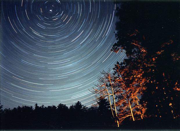 Star Trails Algonquin Park