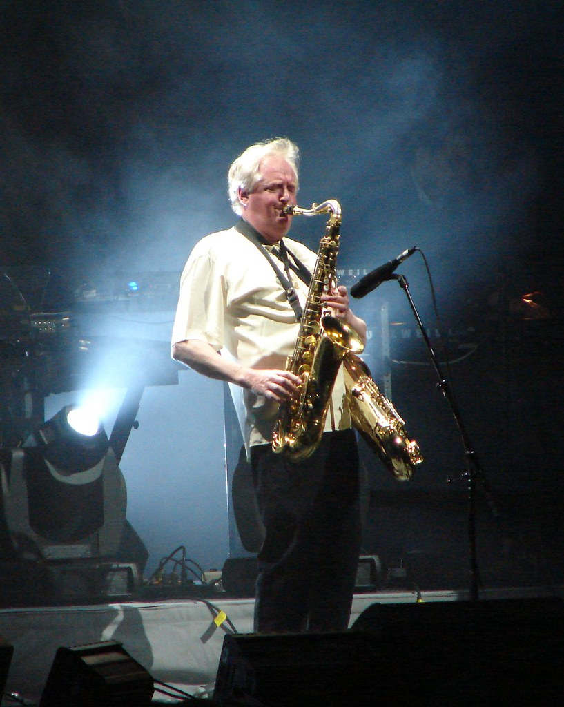Dick Parry, 4\05\06, New York, NY, Radio City Music Hall ...