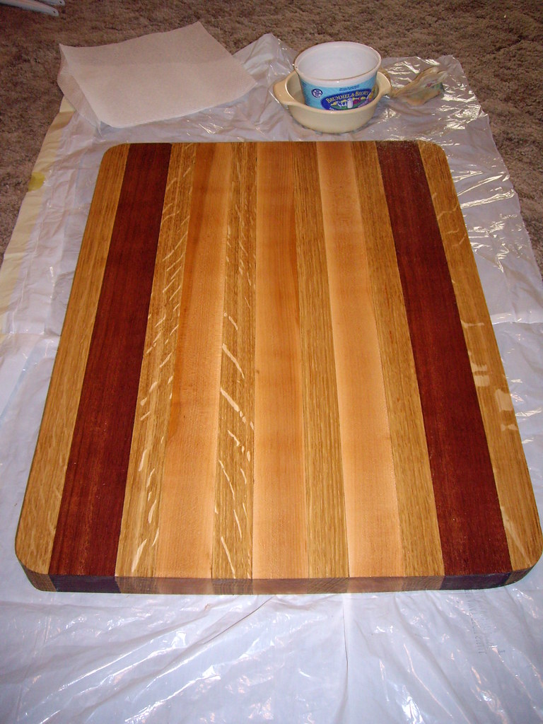 Oiled Board The Board After Oiling It The Natural