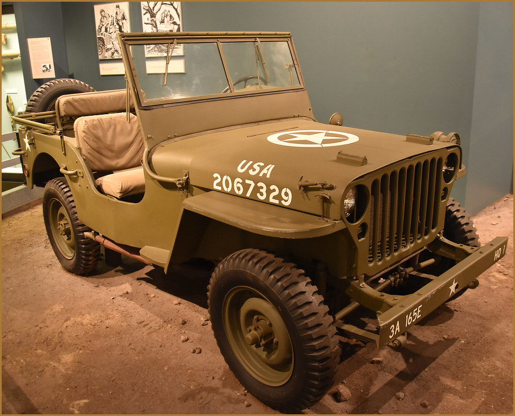 World War II Jeep Army War Museum West Point NY Septe Flickr - World war ii museums in usa